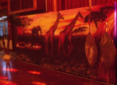 African Backdrop