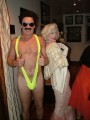 Look a like Borat & Marilyn Monroe